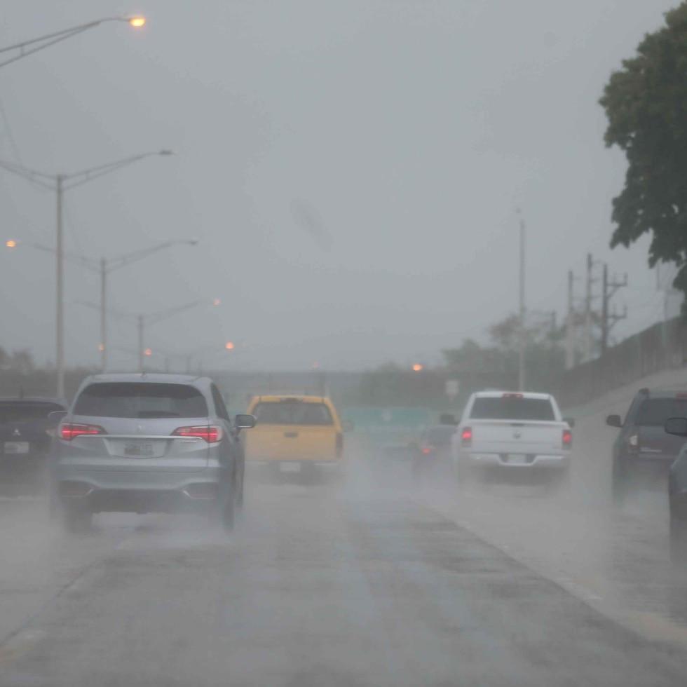 Una vaguada que afecta la isla provocará tiempo inestable con aguaceros y tronadas.