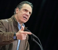 El gobernador de Nueva York Andrew Cuomo.