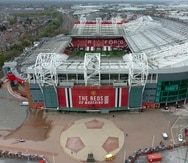 Vista del estadio Old Trafford del Manchester United.