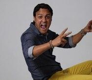 El comediante Francis Rosas.