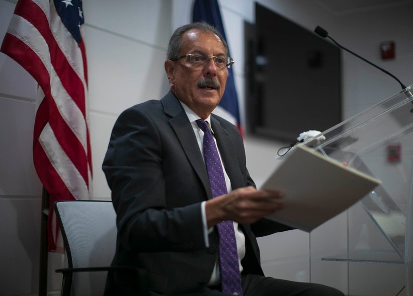 Juan Zaragoza, senador.