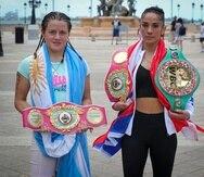 La boxeadora argentina Daniela Bermúdez retará a Amanda Serrano por los cinturones de las 126 libras.