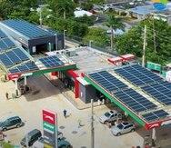 En la foto, una de las estaciones de gasolina, donde Puma ha comenzado su plan de solarización. La iniciativa se llevará a cabo en unas 200 estaciones en todo Puerto Rico con una inversión total de $26 millones.