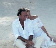 Paula Bakker vivía con Julio Iglesias y Miranda Rijnsburger en Miami. (Archivo)
