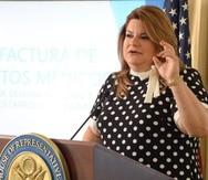 La comisionada residente Jenniffer González