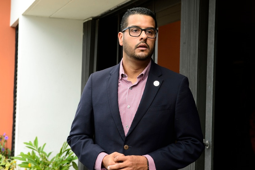 El representante Jesús Manuel Ortiz.