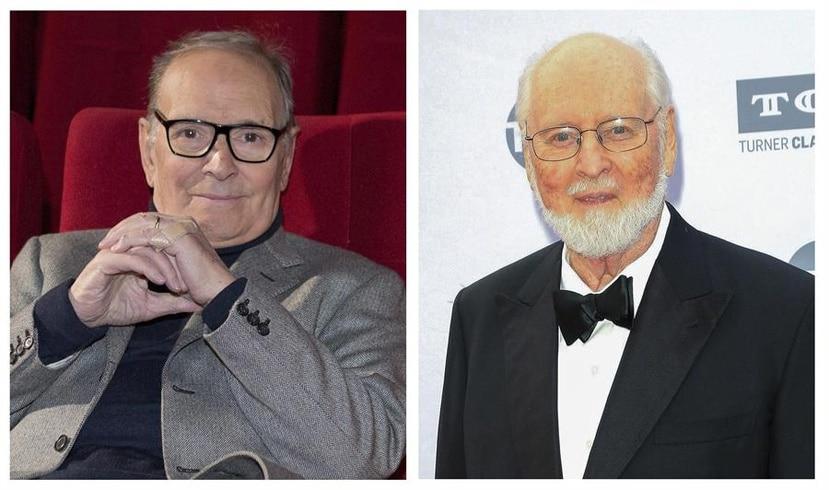 El compositor italiano Ennio Morricone y el estadounidense John Williams obtuvieron de forma compartida el Premio Princesa de Asturias de las Artes 2020.