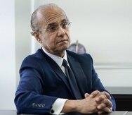 19 de julio de 2021. San Juan, PR END Entrevista con el saliente presidente de la UPR, Jorge Haddock Acevedo, en torno a su destitución. foto por alexis.cedeno@gfrmedia.com