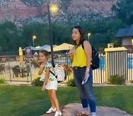 Adamari López y su hija Alaia pasaron el fin de semana en Utah.