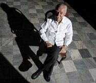 """Fotos de Don Ricardo Alegria en su residencia en la calle Sol # 148 del Viejo San Juan , Puerto Rico . Lunes , Diciembre 15 , 2008 . Alegria es la principal figura actualmente de la cultura puertorriquena . Las fotos fueron realizadas para la seccion Vida Unica .Foto por : Ramon """" Tonito """" Zayas / STAFF / El Nuevo Dia"""