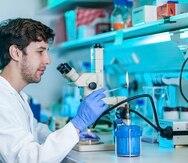 Raymond Laboy Morales descubrió su pasión por la biología del envejecimiento en México, donde trabajó en un laboratorio de genética molecular, en el que investigó la función de proteínas relacionadas con este proceso.