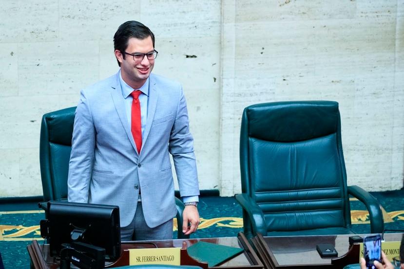Ferrer Santiago desconoce si hay ambiente en la Legislatura para que se apruebe una medida como la que propondrá, y tampoco ha hablado con el gobernador Pedro Pierluisi sobre el asunto.