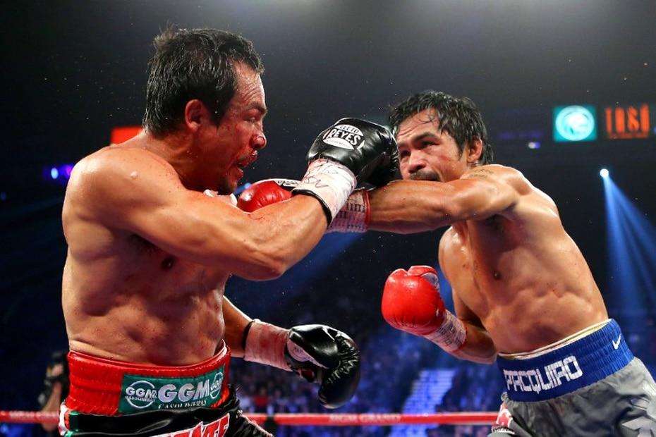 Pacquiao ganó los primeros tres encuentros contra el azteca.