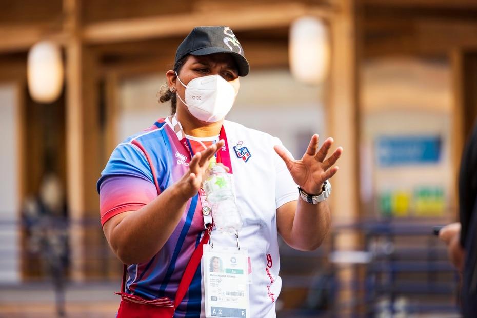 Melissa Mojica superó un contagio de CVODI-19 durante el 2020.