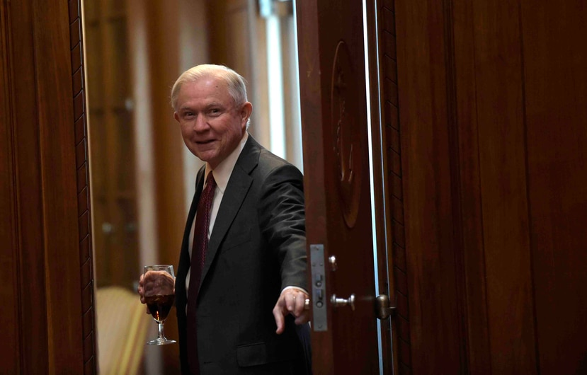 US Attorney General Jeff Sessions. (AP)