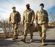 Soldados boricuas seguirán activos en Washington D.C. hasta el domingo