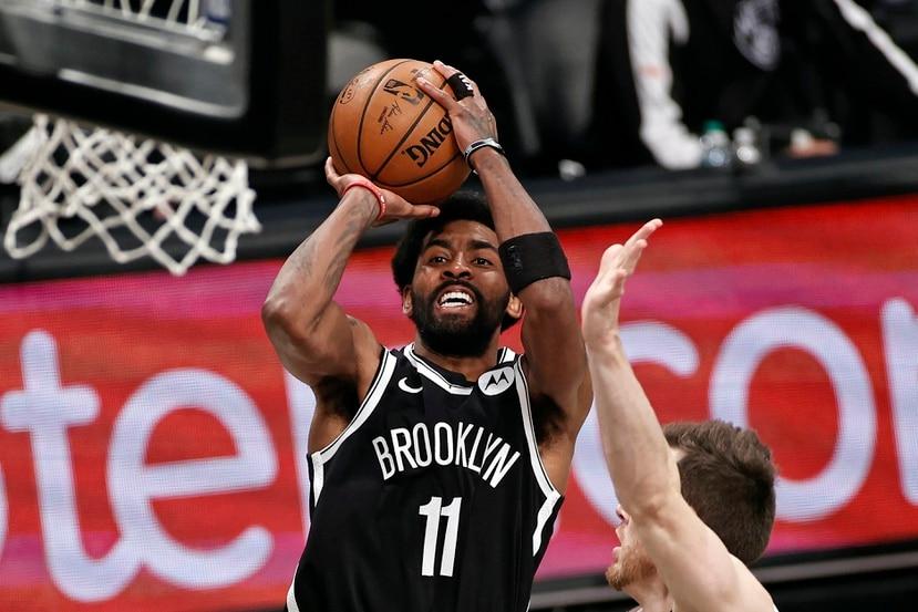 Kyrie Irving es una de las estrellas de los Nets.
