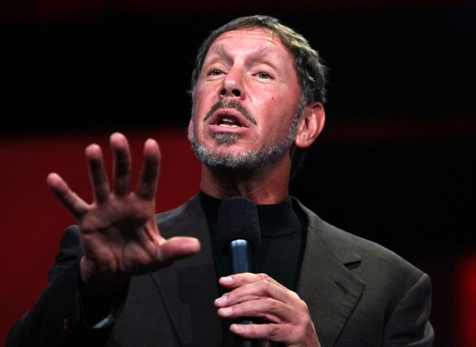 Larry Ellison, el cofundador, presidente y principal oficial de tecnología de Oracle, apareció en la séptima posición con una fortuna de $93,000 millones atada principalmente a las ganancias que les genera a través de su empresa de software.