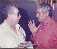 Luis Rafael Sánchez y Gabriel García Márquez