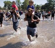 En enero pasado, 78,323 inmigrantes fueron detenidos o considerados inadmisibles en la frontera sureste de Estados Unidos.