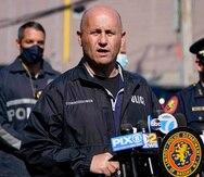 Esta foto del 20 de abril del 2021 muestra al comisionado de policía del condado Nassau, Nueva York, Patrick Ryder.