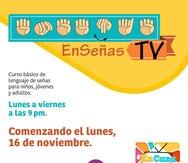 """WIPR estrenará """"En Señas TV"""", un curso básico de lenguaje de señas dirigido a toda la población"""