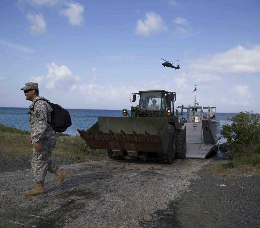 The Navy must clean up the waste of military exercises carried out on 26,000 acres of contaminated land. (GFR Media)
