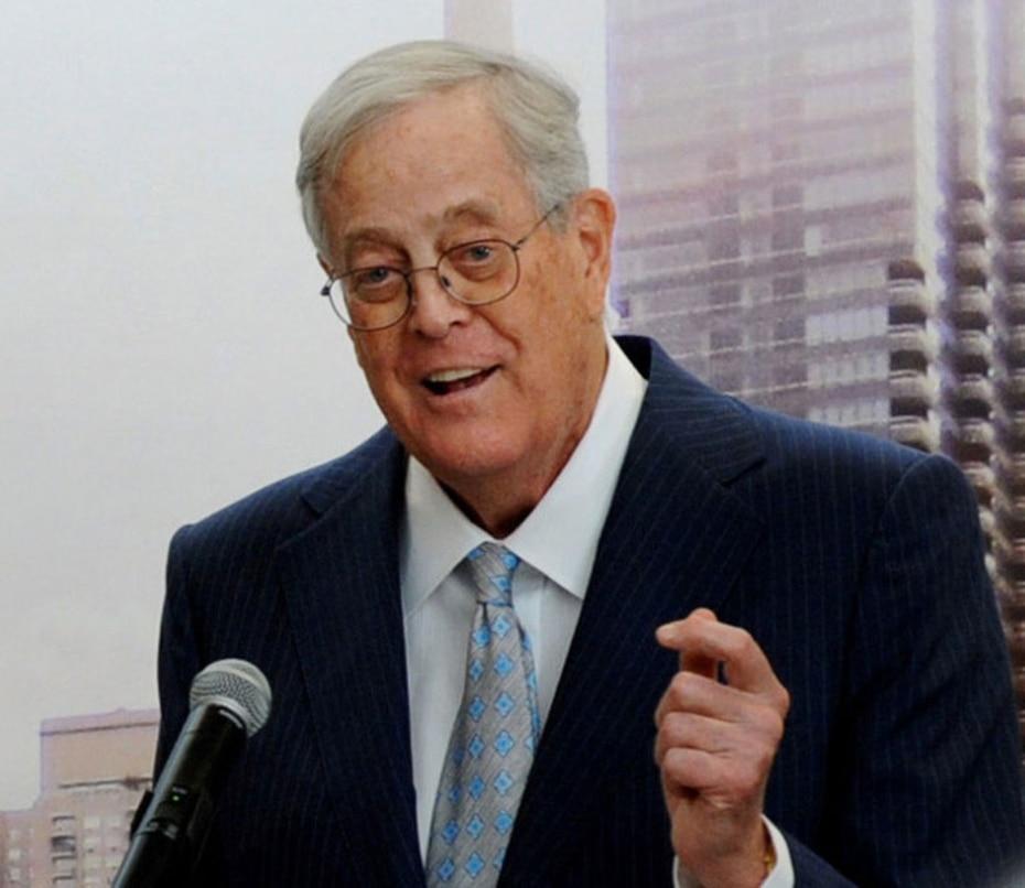 Charles Koch es uno de los fundadores de Koch Industries, una empresa que tiene una variedad de comercios como petróleo, productos químicos, energía, fibra, minerales, papel, entre otros. (AP)