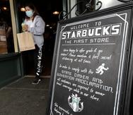 Starbucks exigirá a clientes portar mascarillas en Estados Unidos