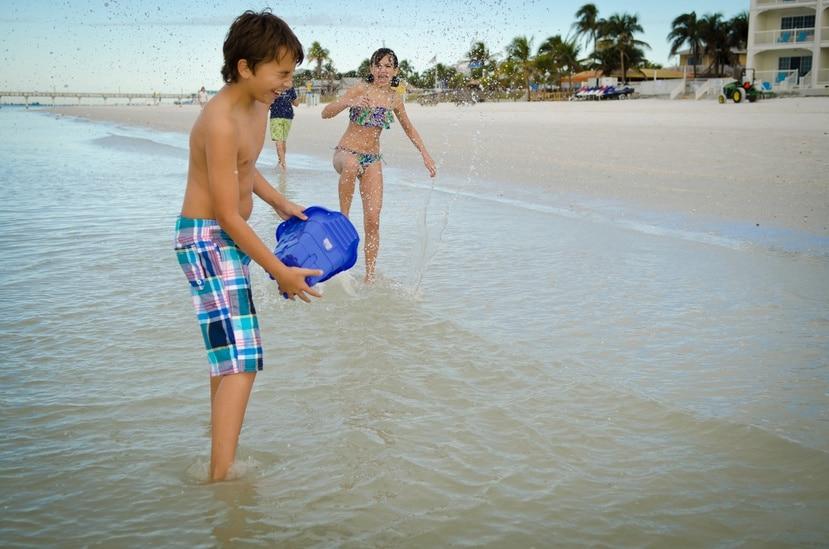 Las playas de Fort Myers, ubicadas por el sudoeste de la Florida, en el Golfo de México, se extienden por unas 50 millas de arenas finas y aguas cálidas.