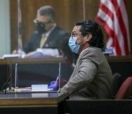 El presidente de la CEE, Francisco Rosado Colomer, durante su testimonio en el caso de Manuel Natal contra Miguel Romero.