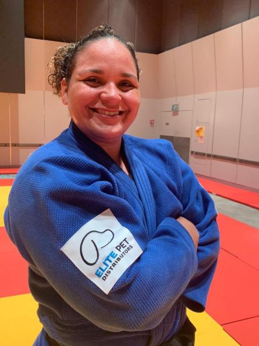 Melissa es una apasionada judoca originaria de Puerto Rico.