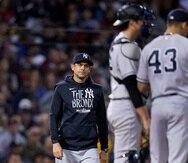 Aaaron Boone aún no ha llevado a los Yankees a la Serie Mundial.