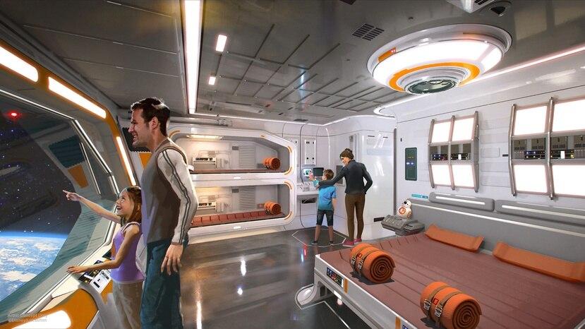 """Según Disney, el precio del Star Wars: Galactic Starcruiser cubre un """"entretenimiento continuo, inmersivo e interactivo donde las opciones determinan su experiencia""""."""