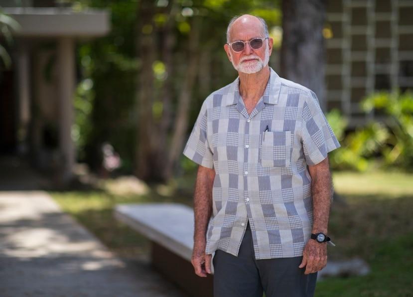 El abogado ambiental Pedro Saadé. Foto: Teresa Canino Rivera.