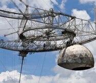 El radiotelescopio del Observatorio de Arecibo colapsó el 1 de diciembre.