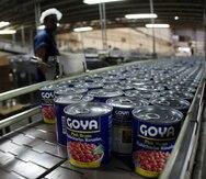 Goya Puerto Rico refiere controversia a su casa matriz en Estados Unidos