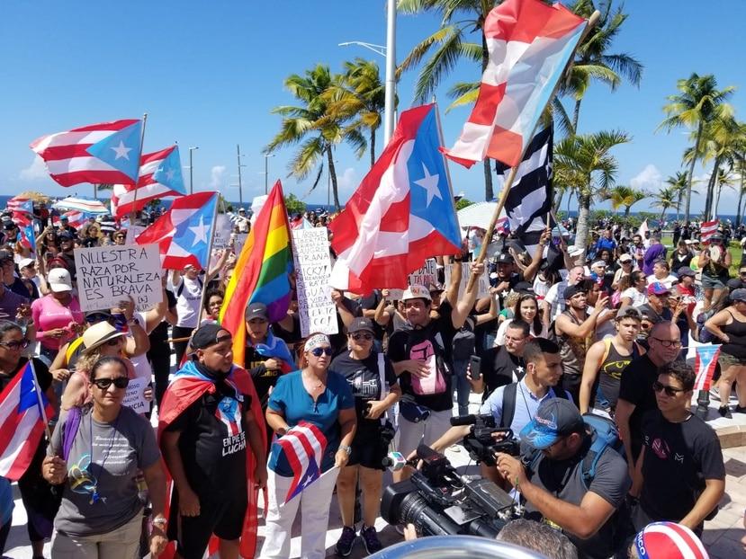 Se espera que hoy miles de personas participen de una manifestación exigiendo la salida de gobernador Ricardo Rosselló.