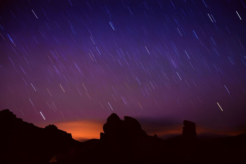 Lluvia de estrellas. (Shutterstock)