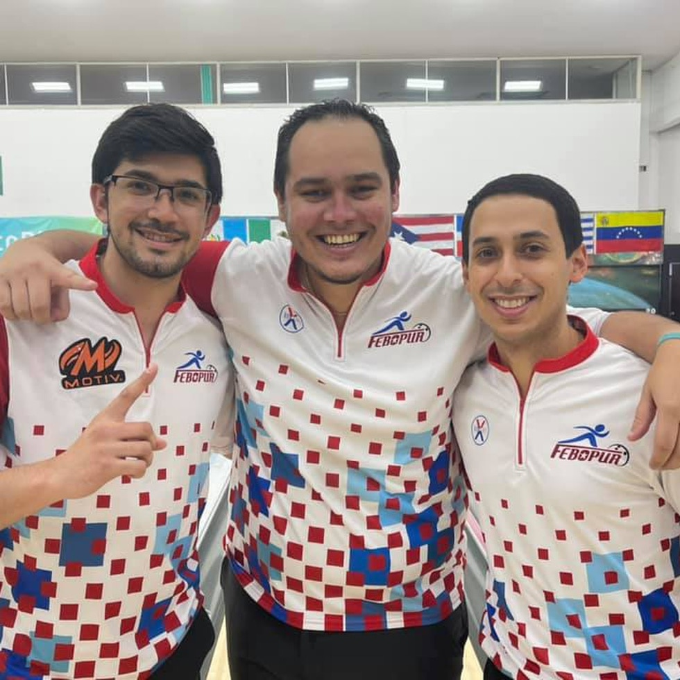 De izquierda a derecha, Jorge A. Rodríguez, Cristian Azcona e Israel Rodríguez.