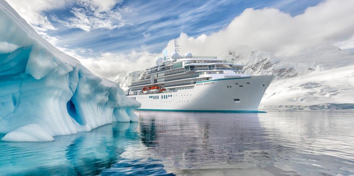 Expedición de lujo en el nuevo Crystal Endeavor de Crystal Cruises