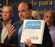 El secretario de Estado, Elmer Román, aún no ha sido confirmado por la Legislatura. (GFR Media)
