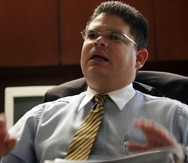 El senador Javier Aponte Dalmau.