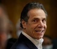 El gobernador de Nueva York, Andrew Cuomo