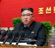En la imagen el líder norcoreano, Kim Jong-un.