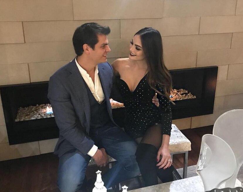 Ximena Navarrete y Juan Carlos Valladares. (Instagram/ximenanr)