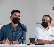 La asamblea del Movimiento Victoria Ciudadana ratificó a Manuel Natal (izquierda) y a Roberto Pagán como líderes máximos de la colectividad.