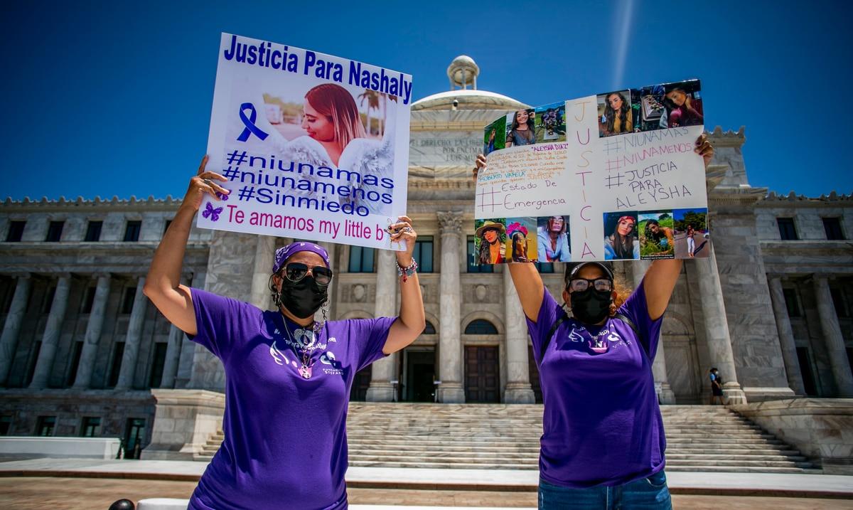 """Madres reclaman justicia para sus hijas asesinadas: """"Llevo un año y cuatro meses esperando por justicia para mi hija y no me dicen nada"""""""