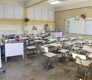 La Escuela Liberata Iraldo, en Río Grande, perdió a cinco maestros.