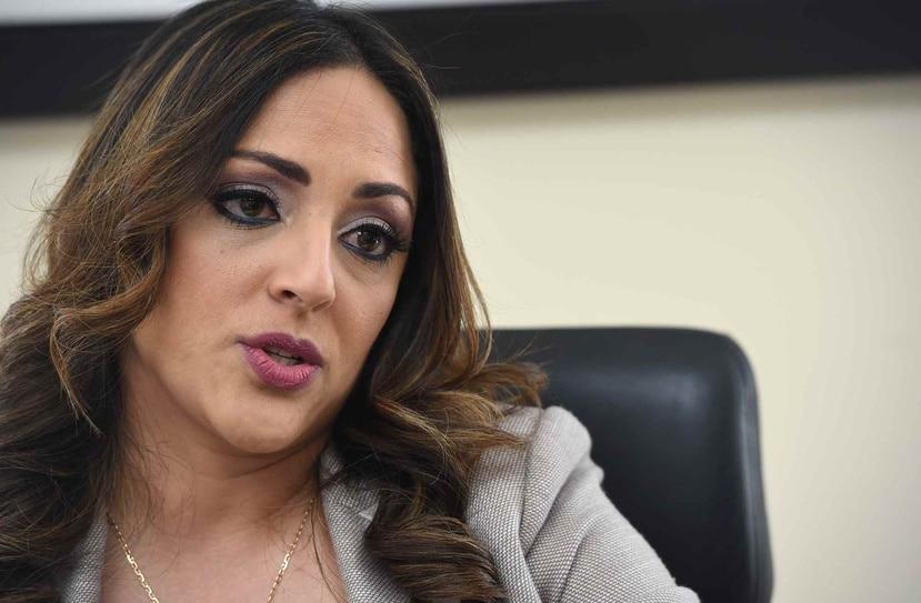 La renuncia de Tania Vázquez será efectiva el 7 de noviembre. (GFR Media)